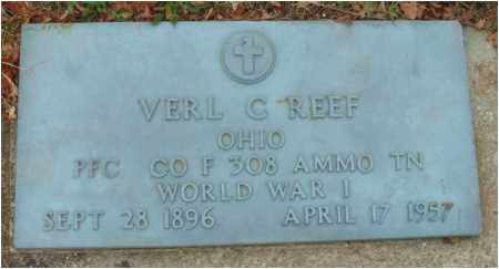 REEF, VERL C. - Fairfield County, Ohio | VERL C. REEF - Ohio Gravestone Photos