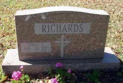 RICHARDS, COLIN F. - Fairfield County, Ohio | COLIN F. RICHARDS - Ohio Gravestone Photos