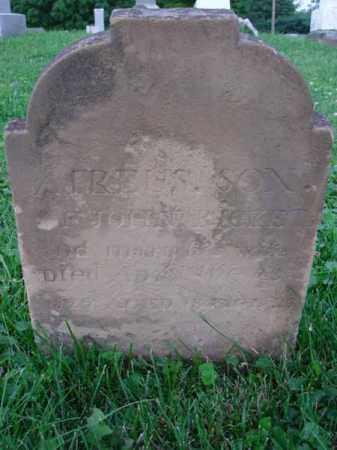 RICKETS, ATREUS - Fairfield County, Ohio | ATREUS RICKETS - Ohio Gravestone Photos