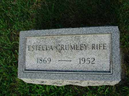 RIFE, ESTELLA - Fairfield County, Ohio | ESTELLA RIFE - Ohio Gravestone Photos