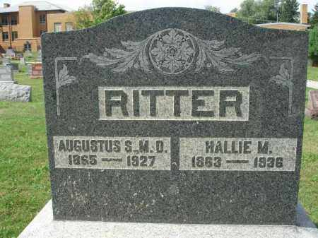RITTER, HALLIE M. - Fairfield County, Ohio | HALLIE M. RITTER - Ohio Gravestone Photos