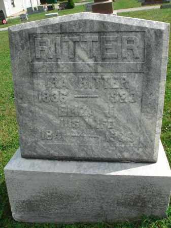 RITTER, ELIZA J. - Fairfield County, Ohio | ELIZA J. RITTER - Ohio Gravestone Photos