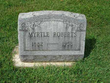ROBERTS, MYRTLE - Fairfield County, Ohio | MYRTLE ROBERTS - Ohio Gravestone Photos