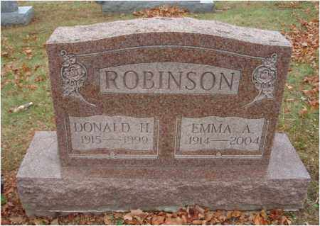 ROBINSON, EMMA A. - Fairfield County, Ohio | EMMA A. ROBINSON - Ohio Gravestone Photos