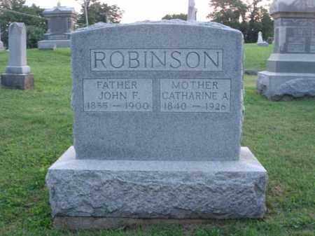 ROBINSON, CATHARINE A. - Fairfield County, Ohio | CATHARINE A. ROBINSON - Ohio Gravestone Photos