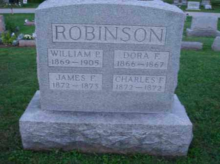 ROBINSON, WILLIAM P. - Fairfield County, Ohio | WILLIAM P. ROBINSON - Ohio Gravestone Photos