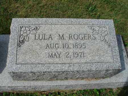 ROGERS, LULA M. - Fairfield County, Ohio | LULA M. ROGERS - Ohio Gravestone Photos