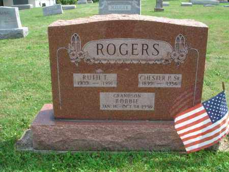ROGERS, RUTH T. - Fairfield County, Ohio | RUTH T. ROGERS - Ohio Gravestone Photos
