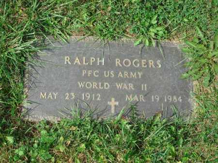 ROGERS, RALPH - Fairfield County, Ohio | RALPH ROGERS - Ohio Gravestone Photos