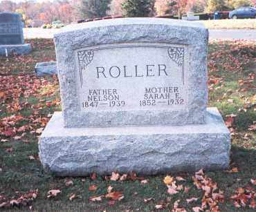 CUSTER ROLLER, SARAH E. - Fairfield County, Ohio | SARAH E. CUSTER ROLLER - Ohio Gravestone Photos