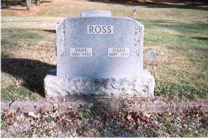 ROSS, JESSIE - Fairfield County, Ohio | JESSIE ROSS - Ohio Gravestone Photos