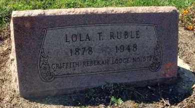 RUBLE, LOLA TALITHA - Fairfield County, Ohio | LOLA TALITHA RUBLE - Ohio Gravestone Photos