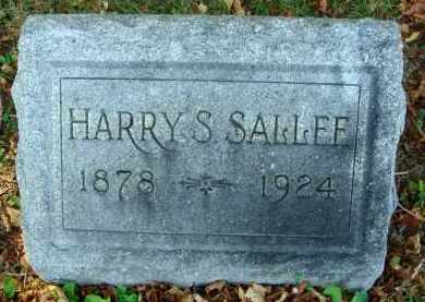 SALLEE, HARRY S. - Fairfield County, Ohio | HARRY S. SALLEE - Ohio Gravestone Photos