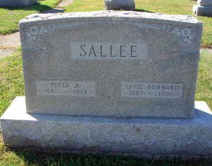 BURNARD SALLEE, EFFIE - Fairfield County, Ohio | EFFIE BURNARD SALLEE - Ohio Gravestone Photos