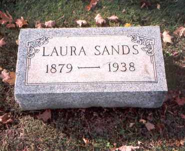 SANDS, LAURA - Fairfield County, Ohio | LAURA SANDS - Ohio Gravestone Photos