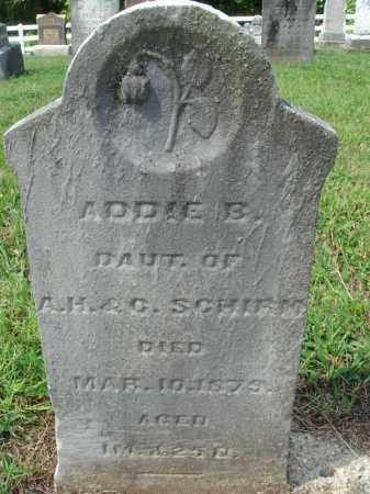 SCHIRM, ADDIE B. - Fairfield County, Ohio | ADDIE B. SCHIRM - Ohio Gravestone Photos