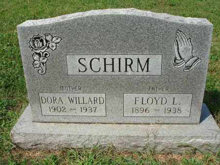 WILLARD SCHIRM, DORA - Fairfield County, Ohio | DORA WILLARD SCHIRM - Ohio Gravestone Photos