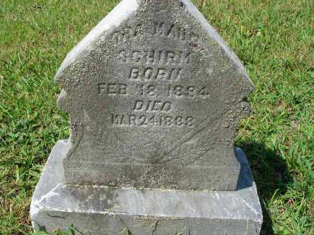 SCHIRM, ORA MAUD - Fairfield County, Ohio | ORA MAUD SCHIRM - Ohio Gravestone Photos