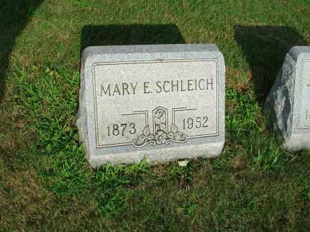 SCHLEICH, MARY E. - Fairfield County, Ohio | MARY E. SCHLEICH - Ohio Gravestone Photos