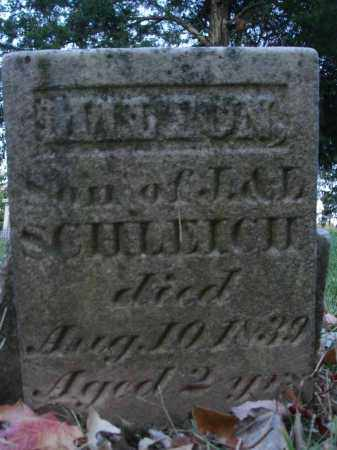SCHLEICH, MILTON - Fairfield County, Ohio | MILTON SCHLEICH - Ohio Gravestone Photos