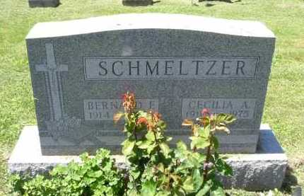 SCHMELTZER, CECELIA A. - Fairfield County, Ohio | CECELIA A. SCHMELTZER - Ohio Gravestone Photos