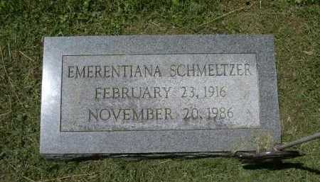 SCHMELTZER, EMERENTIANA - Fairfield County, Ohio | EMERENTIANA SCHMELTZER - Ohio Gravestone Photos