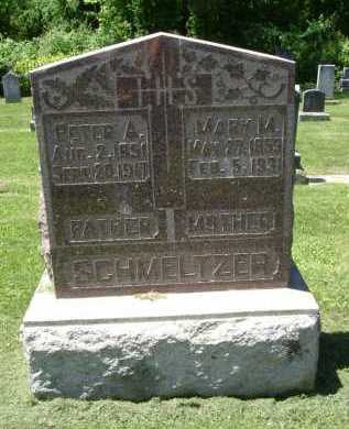 SCHMELTZER, PETER ALPHONS - Fairfield County, Ohio | PETER ALPHONS SCHMELTZER - Ohio Gravestone Photos