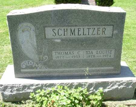 SAVY SCHMELTZER, IDA LOUISE - Fairfield County, Ohio | IDA LOUISE SAVY SCHMELTZER - Ohio Gravestone Photos