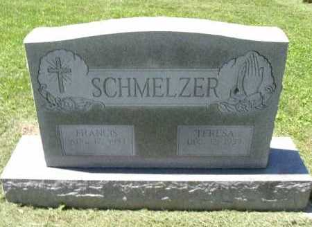 SCHMELZER, TERESA - Fairfield County, Ohio | TERESA SCHMELZER - Ohio Gravestone Photos