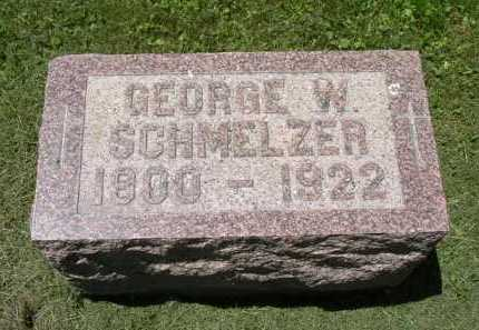 SCHMELZER, GEORGE W. - Fairfield County, Ohio | GEORGE W. SCHMELZER - Ohio Gravestone Photos