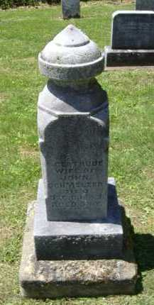 SCHMELZER, GERTRUDE - Fairfield County, Ohio | GERTRUDE SCHMELZER - Ohio Gravestone Photos