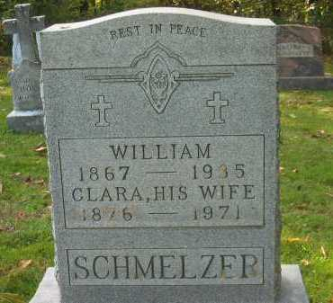 SCHMELZER, CLARA - Fairfield County, Ohio | CLARA SCHMELZER - Ohio Gravestone Photos