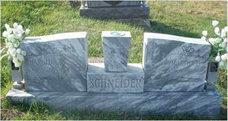SCHNEIDER, MARTHA D. - Fairfield County, Ohio | MARTHA D. SCHNEIDER - Ohio Gravestone Photos