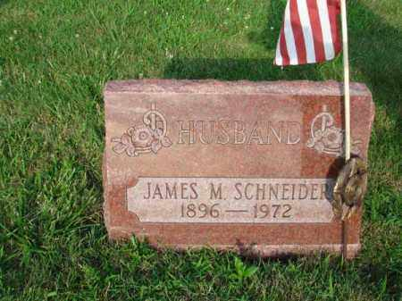 SCHNEIDER, JAMES M. - Fairfield County, Ohio | JAMES M. SCHNEIDER - Ohio Gravestone Photos