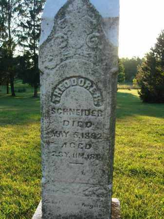SCHNEIDER, THEODORE R. - Fairfield County, Ohio | THEODORE R. SCHNEIDER - Ohio Gravestone Photos