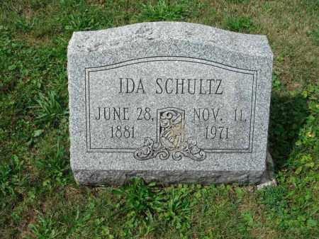 SCHULTZ, IDA - Fairfield County, Ohio | IDA SCHULTZ - Ohio Gravestone Photos