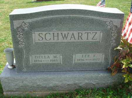 SCHWARTZ, DELLA M. - Fairfield County, Ohio | DELLA M. SCHWARTZ - Ohio Gravestone Photos