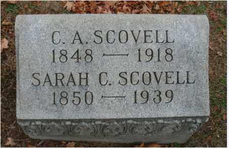 SCOVELL, SARAH C. - Fairfield County, Ohio | SARAH C. SCOVELL - Ohio Gravestone Photos