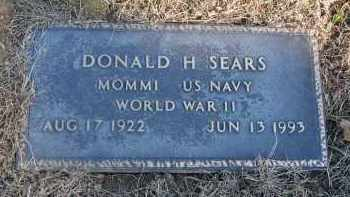 SEARS, DONALD HAMILTON - Fairfield County, Ohio | DONALD HAMILTON SEARS - Ohio Gravestone Photos