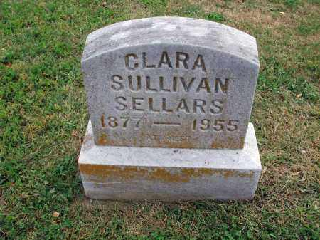 SULLIVAN SELLARS, CLARA - Fairfield County, Ohio | CLARA SULLIVAN SELLARS - Ohio Gravestone Photos