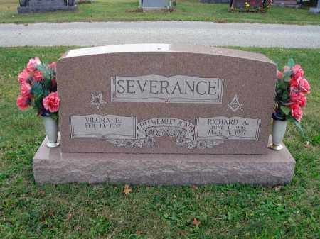 SEVERANCE, RICHARD A. - Fairfield County, Ohio | RICHARD A. SEVERANCE - Ohio Gravestone Photos