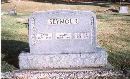 SEYMOUR, ZANE - Fairfield County, Ohio | ZANE SEYMOUR - Ohio Gravestone Photos