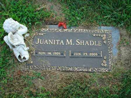 SHADLE, JUANITA M. - Fairfield County, Ohio | JUANITA M. SHADLE - Ohio Gravestone Photos