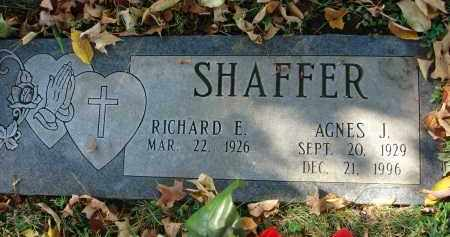 SHAFFER, AGNES J. - Fairfield County, Ohio | AGNES J. SHAFFER - Ohio Gravestone Photos