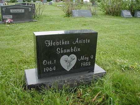 SHAMBLIN, HEATHER - Fairfield County, Ohio | HEATHER SHAMBLIN - Ohio Gravestone Photos
