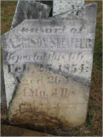 SHEAFFER, MRS. HARRISON - Fairfield County, Ohio | MRS. HARRISON SHEAFFER - Ohio Gravestone Photos