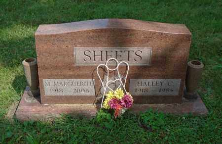 SHEETS, HALLEY C. - Fairfield County, Ohio | HALLEY C. SHEETS - Ohio Gravestone Photos