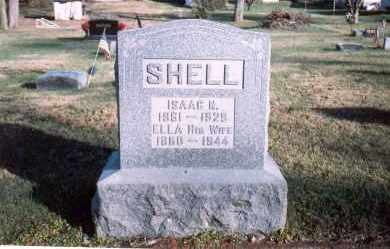 SHELL, ISAAC N. - Fairfield County, Ohio | ISAAC N. SHELL - Ohio Gravestone Photos