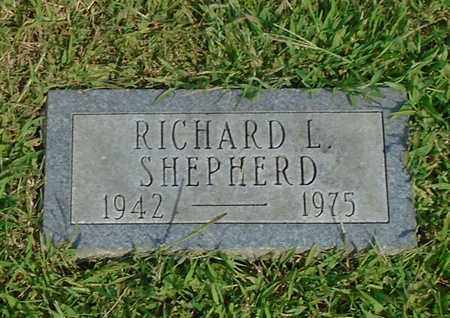 SHEPHERD, RICHARD L - Fairfield County, Ohio | RICHARD L SHEPHERD - Ohio Gravestone Photos