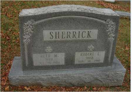 SHERRICK, ROBERT L. - Fairfield County, Ohio | ROBERT L. SHERRICK - Ohio Gravestone Photos